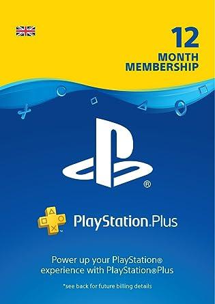 best website 669a4 8ba16 PlayStation Plus: 12 Month Membership | PS4 | PSN Download ...