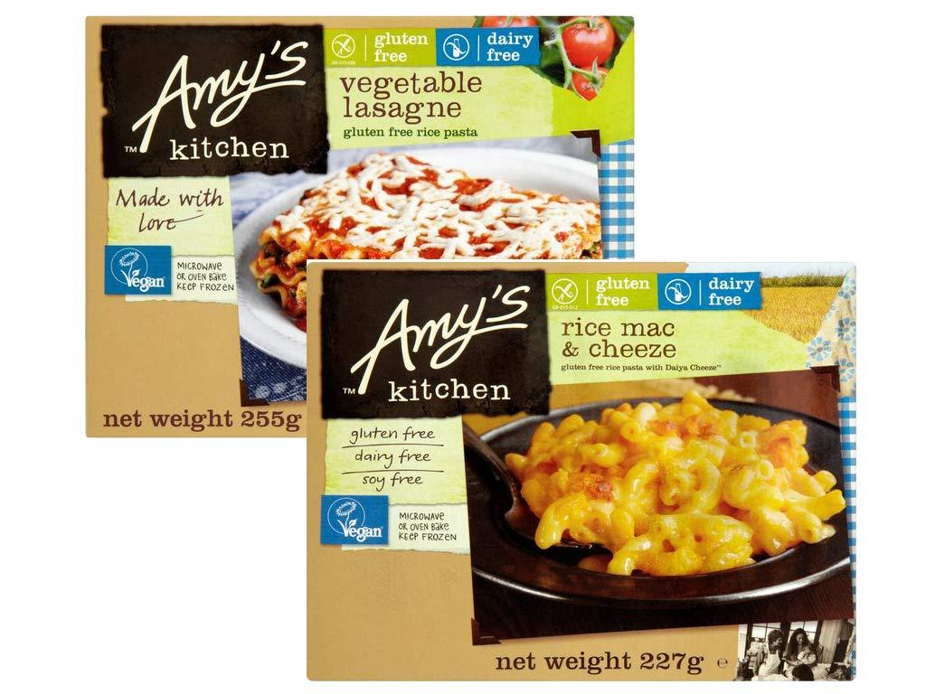 PROMO Amys Kitchen PACK DE 2: Libre De Queso Macarrones ...