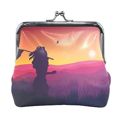 Amazon.com: LALATOP - Monedero para mujer, diseño de ...