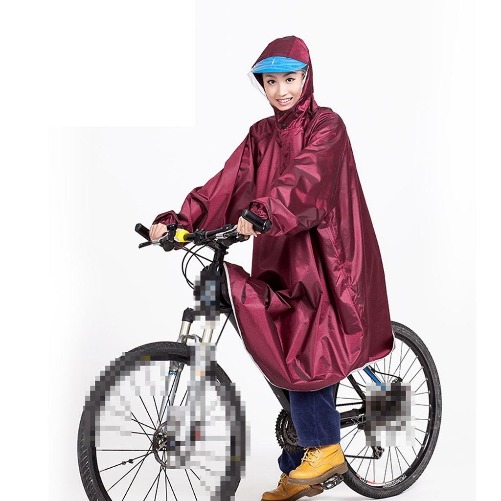 YIFU Imperméables à Bicyclette, imperméables extérieurs pour Hommes et Femmes à la Mode
