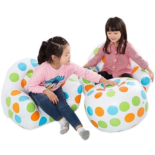 EFGS Portátil Mini Sofa Hinchable, Seguridad Flocado Inflable ...