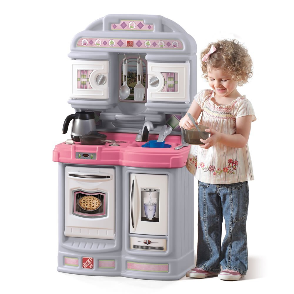 Step2 Cozy Kitchen Set Pink Buy Online In Lebanon At Lebanon Desertcart Com Productid 29922954