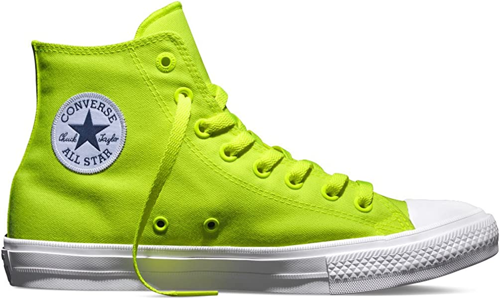 5c0a13b26a6 Converse Unisex Adults  Chuck Taylor All Star II Neon Basketball Shoes
