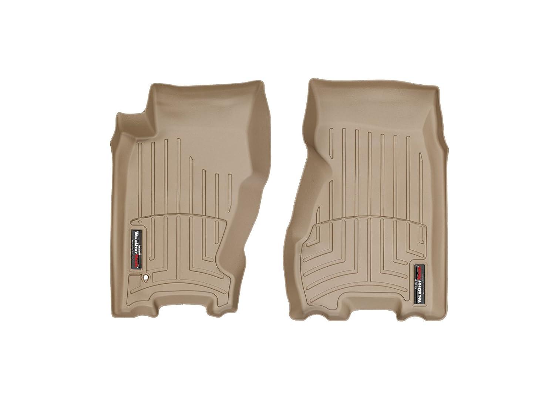 WeatherTech Custom Fit Front FloorLiner for Jeep Grand Cherokee Tan 450521