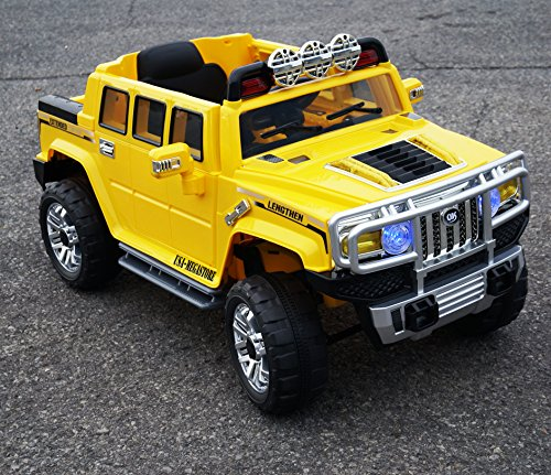 Yellow JJ255B Hummer Remote Control product image