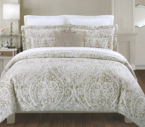 large size comforters grey sets bedding set tahari of mind comforter blowing amazon com sheets silver quilt full gray king home queen