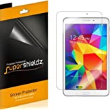 [3-Pack] Supershieldz- High Definition Clear Screen Protector For Samsung Galaxy Tab 4 8.0 inch + Lifetime Replacements Warranty [3-PACK] - Retail Packaging