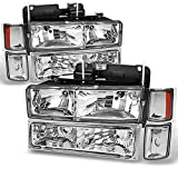 96 chevy 1500 headlight bulbs - Chevy C/K 1500/2500/3500 Tahoe Suburban Silverado Full Size C10 Headlights Driver/Passenger Headlamp