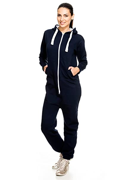 425fa06872b Lucky Joe s Women s Tracksuit Onesie Jumpsuit All in One Jumpsuit Playsuit  Tracksuit  Amazon.co.uk  Clothing