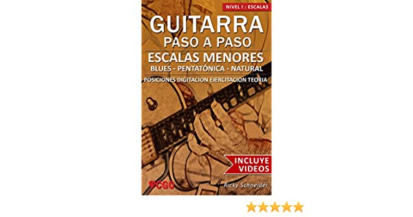 Escalas Menores - Guitarra Paso a Paso - con VIDEOS HD: Tríadas ...