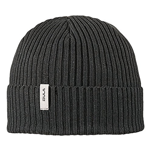 Bula Black Beanie (BULA Men's Portland Beanie, Black, One Size)