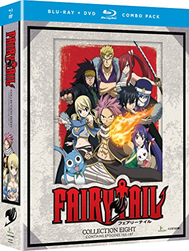 Fairy Tail: Collection Eight (Blu-ray/DVD Combo)