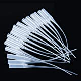 Corrines 100PCS Glue Micro-Tips,for Bottles Glue Extender Precision Applicator for Hobby, Crafting, Lab Dispensing,Adhesive Dispensers,