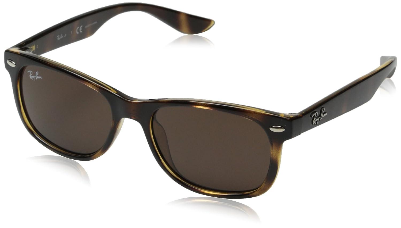 295f4267e27c8 Ray-Ban Junior Kids' 0rj9052s Wayfarer Sunglasses, Havana, 47 mm:  Amazon.ca: Clothing & Accessories
