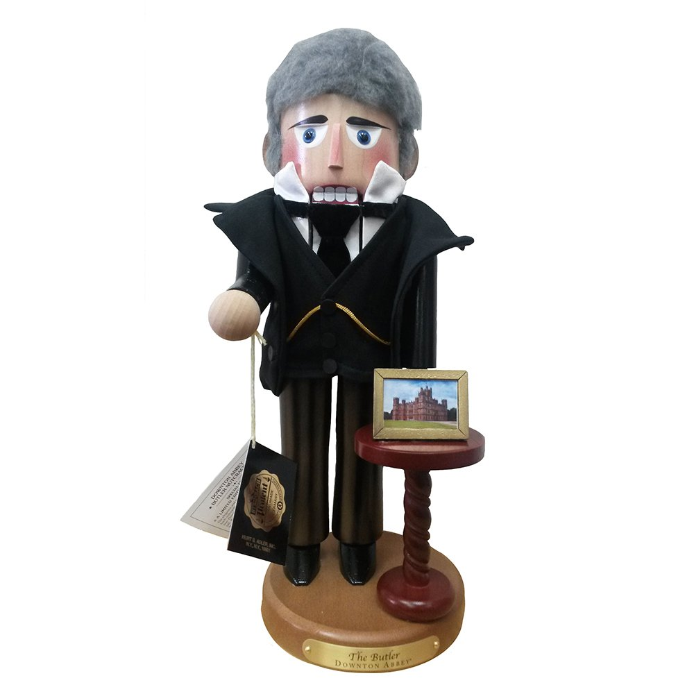 Kurt Adler Downton Abbey Butler Nutcracker, 18-Inch
