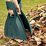 Leaf Grabber Hand Rake Claw- Lightweight, Durable Gorilla Garden Tool for Scooping Leaves, Spreading Mulch, Yard Work and More by Pure Garden