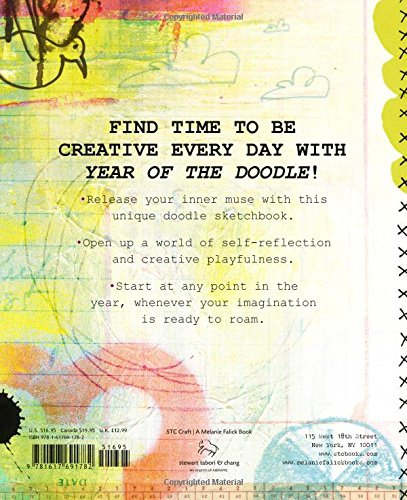 year of the doodle 365 drawing collaging and markmaking adventures