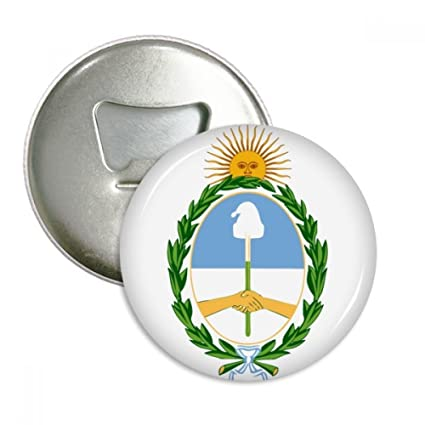 Amazon Buenos Aires Argentina National Emblem Round Bottle