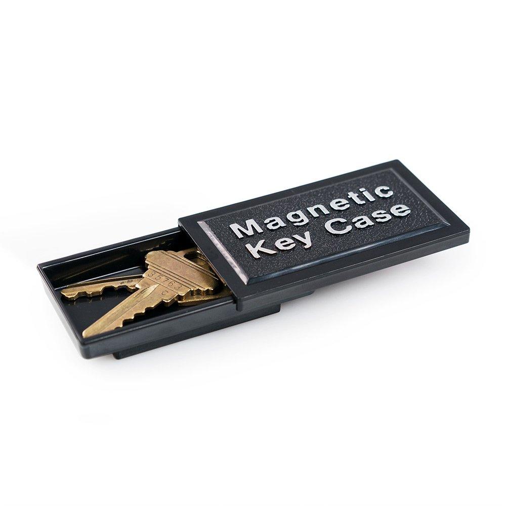 WYZworks hide-a-key Realistic Looking Rockキー安全ホルダー WYZ-HID-MAG-L B07B6FCRHZ  Large Black Hide-a Key