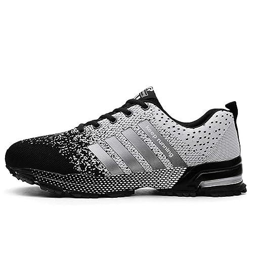 Amazon.com: WXLONG - Zapatos de correr para hombre, con ...