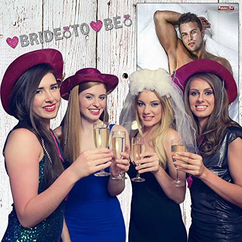 Bachelorette Party Games, Pin The Love Muscle On Romeo, 24