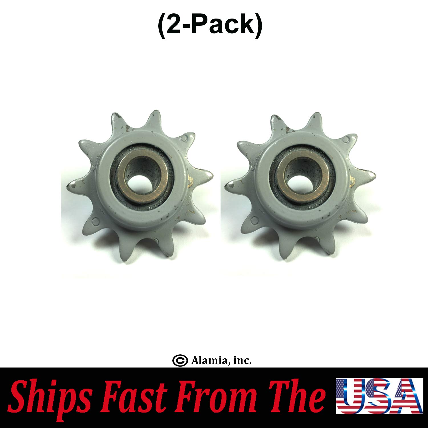 (2-Pack) New Ryan Aerator Parts, 548960 Idler Sprocket Fits All Ryan LA-IV & LA-V Aerators by .Alamia