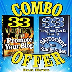 2 for 1 Combo - Kindle & Blog Promotion Offer