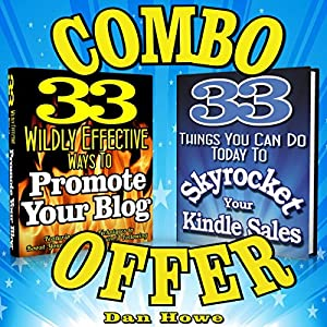 2 for 1 Combo - Kindle & Blog Promotion Offer Audiobook