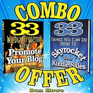 2 for 1 Combo - Kindle & Blog Promotion Offer Audiobook