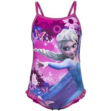 Disney Die Eisk/önigin Badeanzug ELSA mit R/üschen