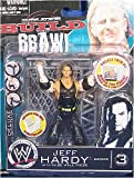 WWE Wrestling Build N' Brawl Series 3 Mini 4 Inch Action Figure Jeff Hardy (With Cage Wall)