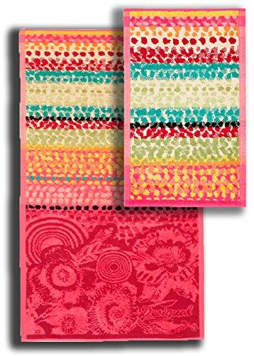 Desigual Juego de Toallas 1 1 LOLLIPOP (Toalla de Baño 50 X 100 cm de Acogida) (30 X 50) De Color Única (Fotos): Amazon.es: Hogar