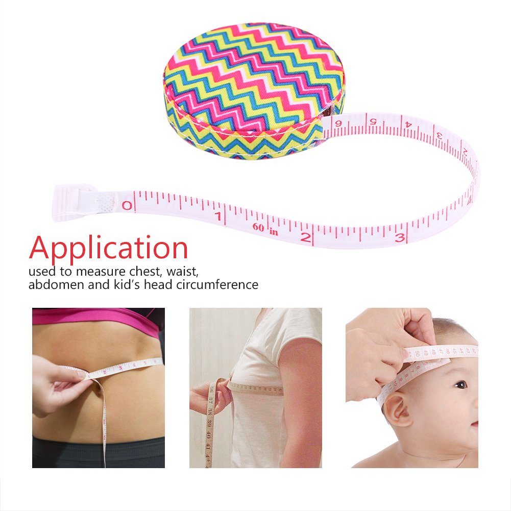 #1 1pc Accurate Tape Measure Tapeline Body Fitness Measuring Body Measurement Tailor Sewing Craft Cloth Dieting Measuring Tape