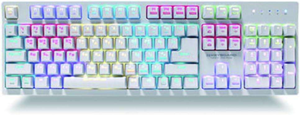 NKEY- R3 RGB Teclado mecánico para Juegos con ...