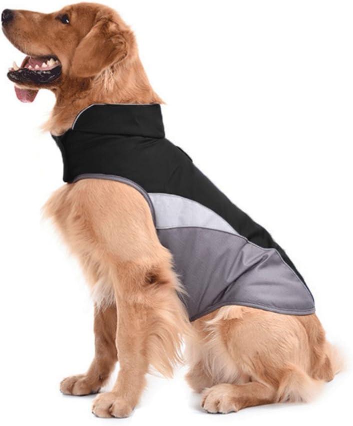 SILD Dog Jacket Outdoor Indoor Activities Waterproof Windproof Reflective Dog Cold Weather Winter Coat Dog Vest Autumn Pet Apparel for Small Medium Large Dog