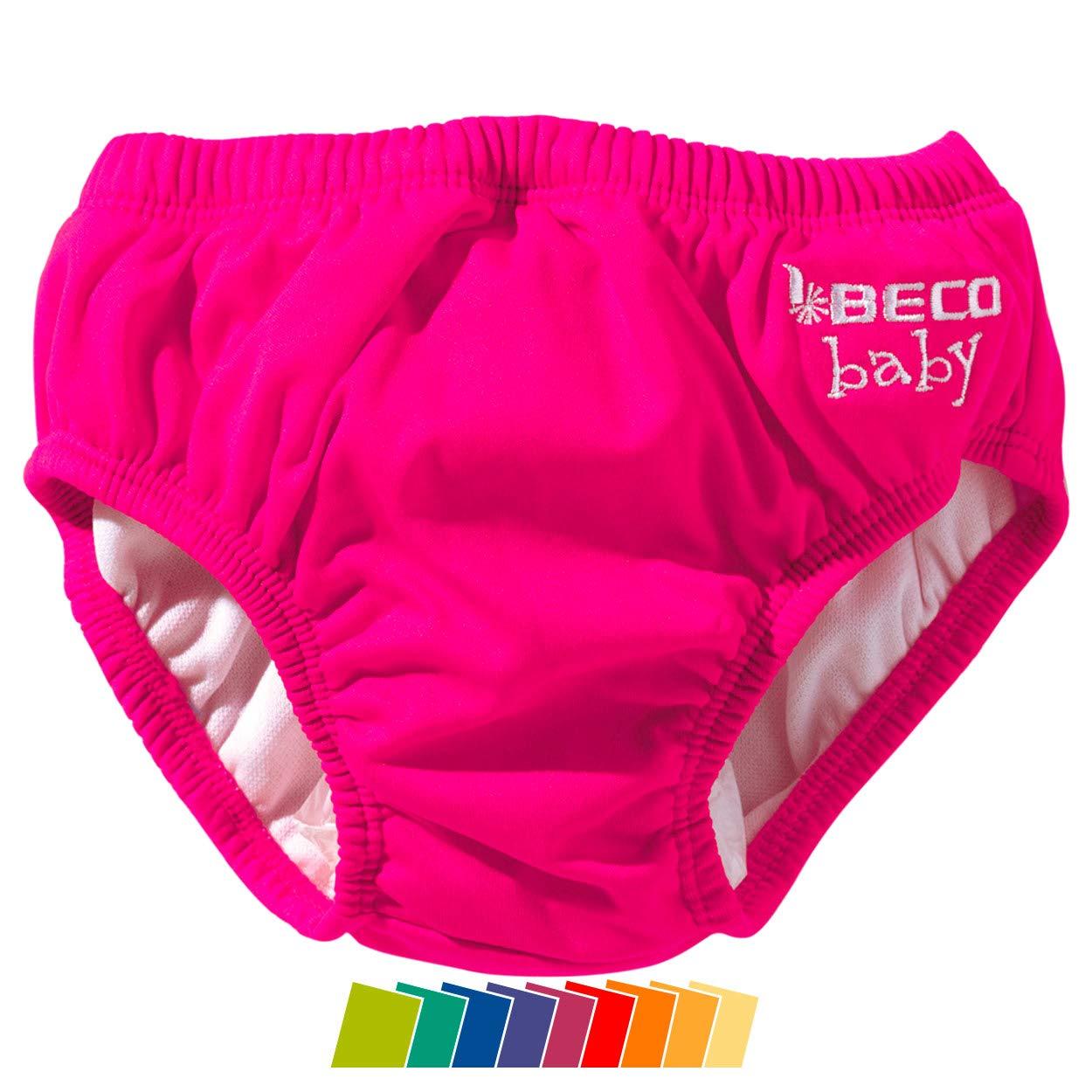 Beco Unisex-Baby Aqua-Windel Slipform mit Gummib/ündchen 18-24 Monate Schwimmhilfe Rosa Pink//4 XL