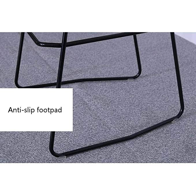Amazon.com: MLX Bar Stool Modern Minimalist Dining Chair Metal Woven ...