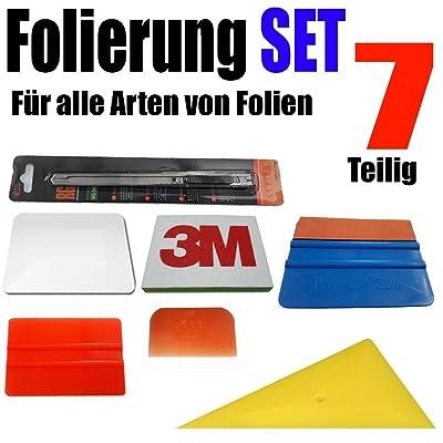 7 pièces pour tout type de folierung Films - Raclette Set Auto et Moto