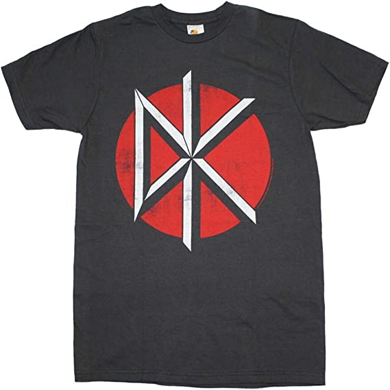 Dead Kennedys Distressed DK Logo T Shirt Officiel Jello Biafra