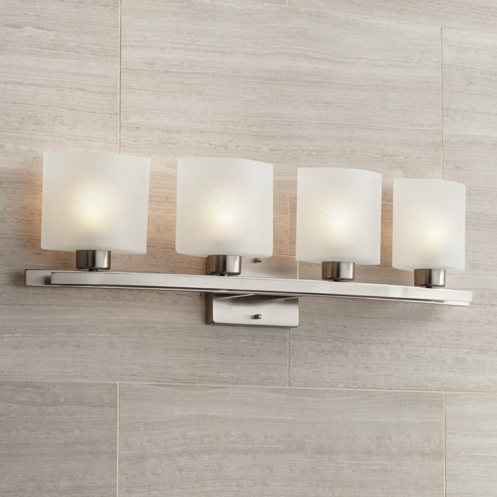 stelata kichler contemporary fixture light bathroom kic polished nickel loading zoom