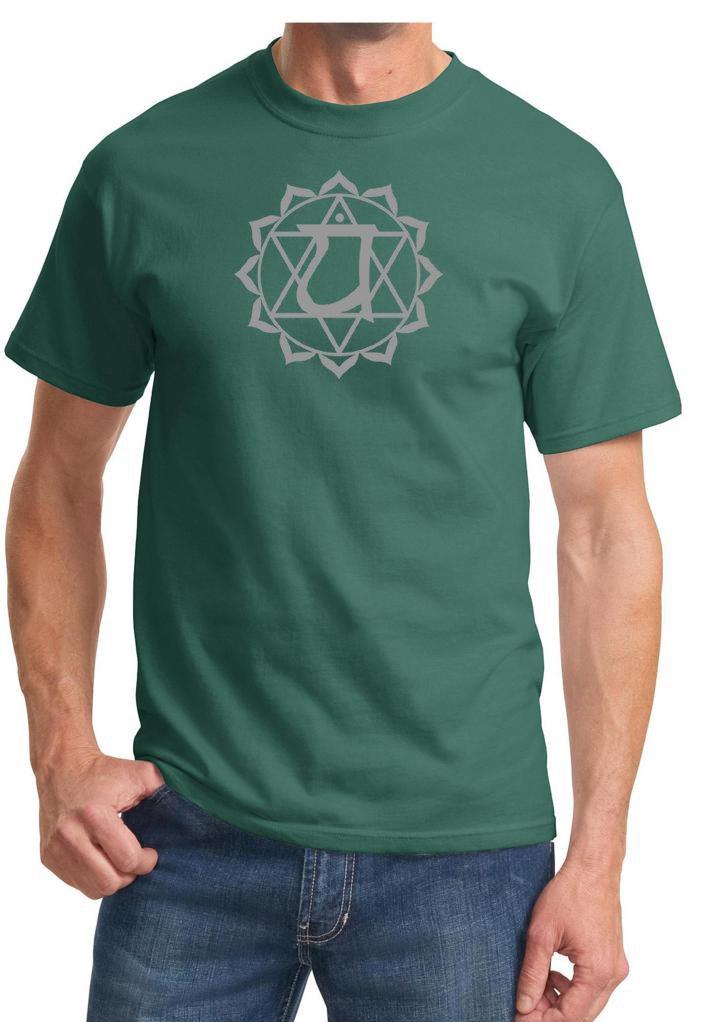 S Yoga T Shirt Anahata Heart Chakra Adult T 6885