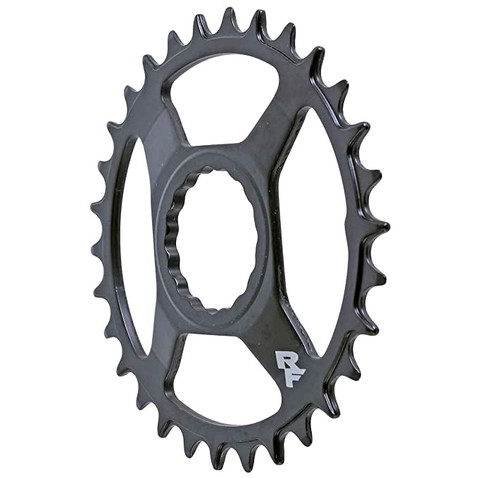 RaceFace Steel Narrow Wide Cinch Direct Mount Chainring Black, 28t