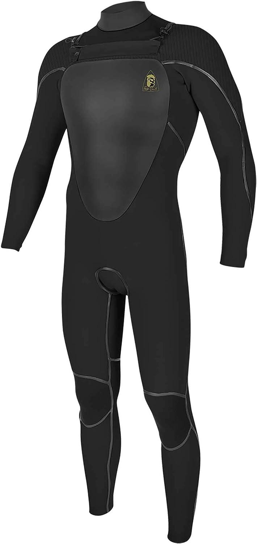 O'Neill Jack O レジェンド ミュータント 4.5/3.5 CZ フルウェットスーツ フード付き ブラック X-Large