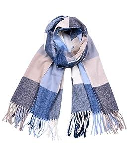 UMEE Sciarpa Cachemire Griglia Morbido Uomo Fashion Sciarpa Inverno Colore (# 1)