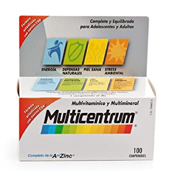 Multicentrum 100 Tablets Like Centrum Ship Wordwide