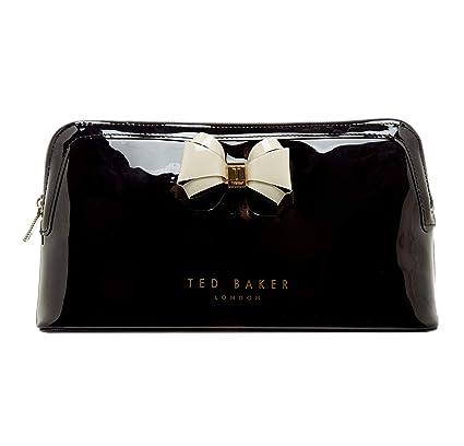 best website 200e1 9edc9 Ted Baker Abbie Logo Wash Bag, Cosmetics Bag, Toiletry Bag (Black)