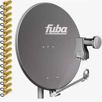 Fuba DAL 808 A + Octo LNB - Sistema de satélite (Antena ...