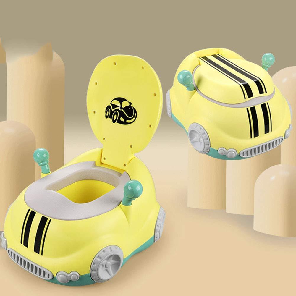 LWYJ Auto T/öpfchen Spa/ß WC-Trainingssitz f/ür Jungen und M/ädchen mit gepolsterten Sitzen Griff stabil und komfortabel
