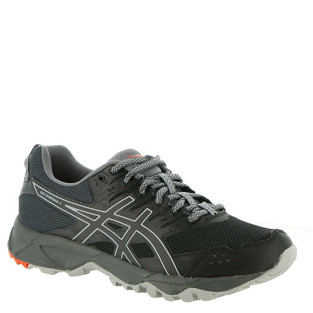 ASICS Women's Gel-Sonoma 3 Trail Runner Grey B077NH6GWV 7.5 B(M) US|Black/Dark Grey Runner acc83c