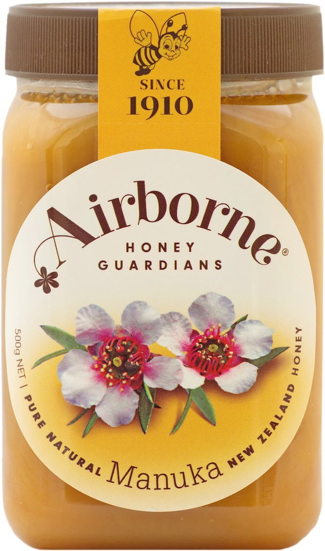 Airborne (New Zealand) Manuka Honey 500g / 17.85oz